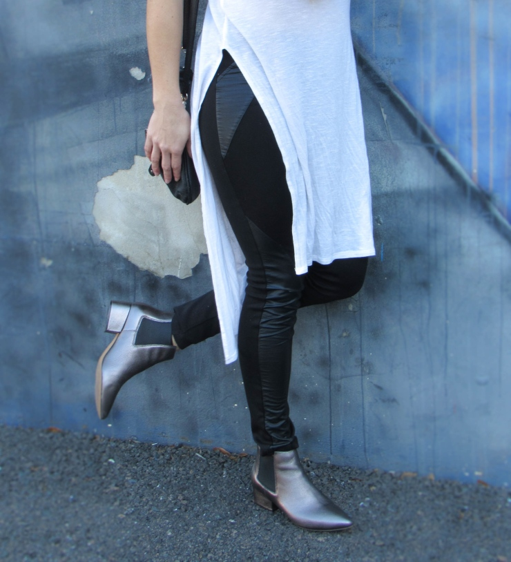 Metallic Shoes Booties Style