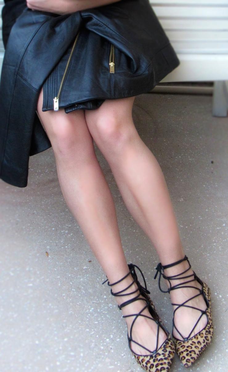 Zara Lace Flats