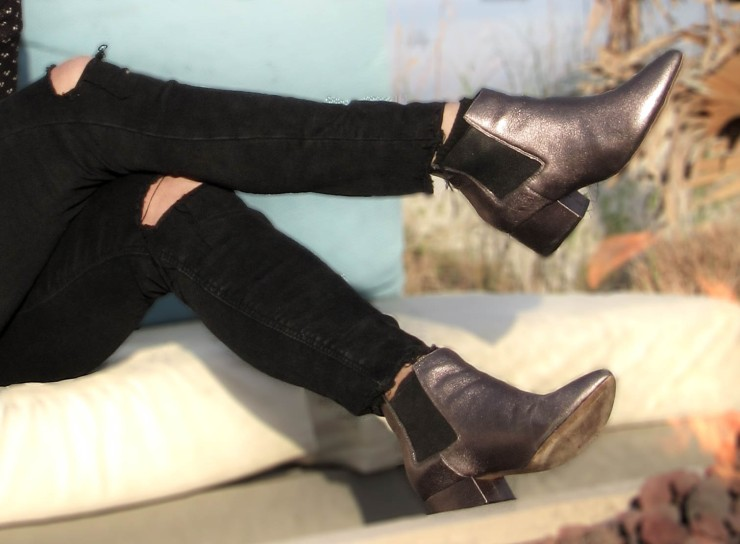 zara-black-jeans-metallic-ronan-bootie-frenchconnection