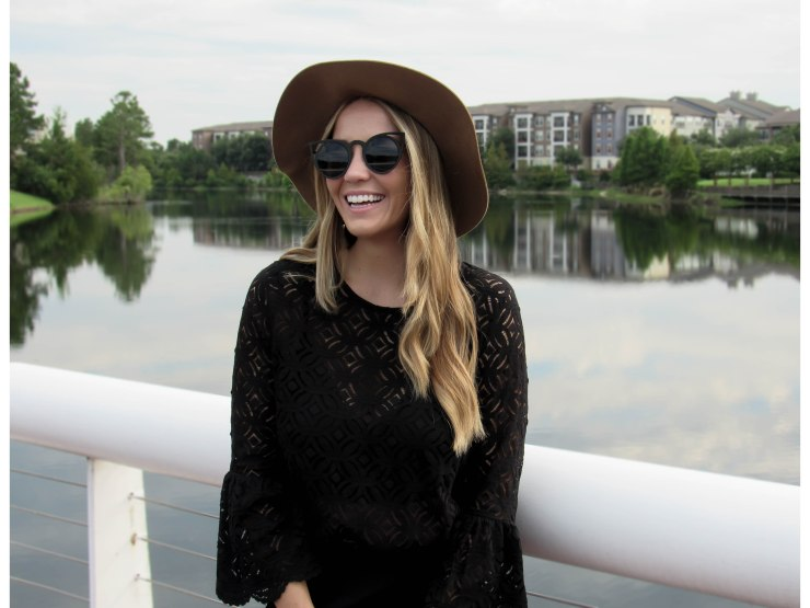 hm_black_lace_bell_sleeve_top_forever21_wool_hat_pinterest_outfit_pinteres_blog_style