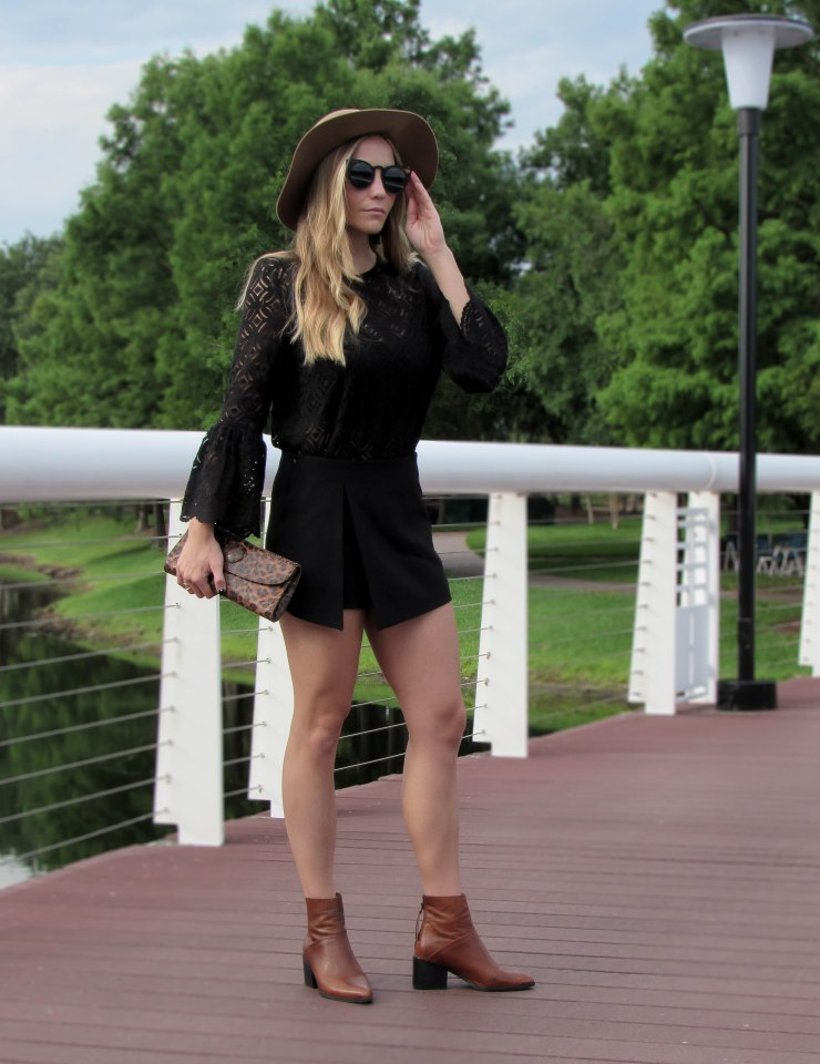 hm_summer_black_lace_bell_sleeve_top_forever21_wool_hat_pinterest_outfit_blog_style