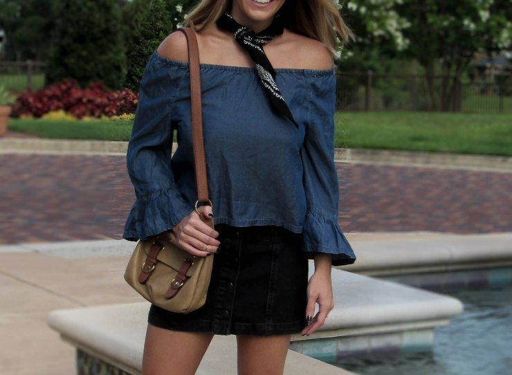 hm_bell_sleeves_summer_outfit_pinterest_denim_skirt_topshop_blog_style