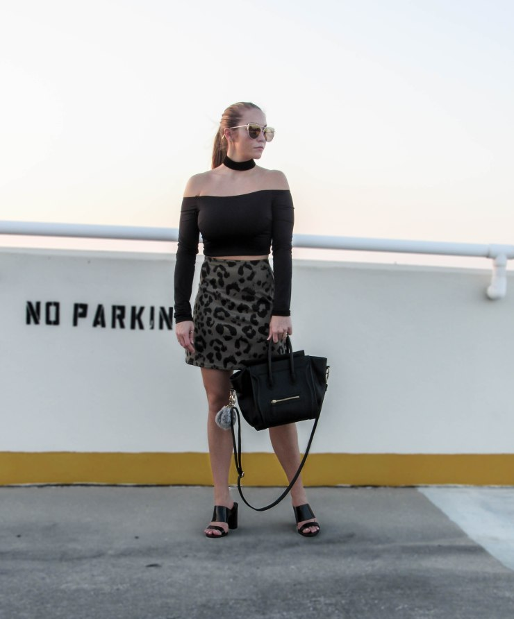 missguided_leopard_olive_skirt_street_style_forever21_off_shoulder_top_pinterest_blog