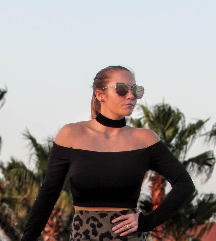 summer_style_missguided_leopard_olive_skirt_style_forever21_off_shoulder_top_pinterest_blog