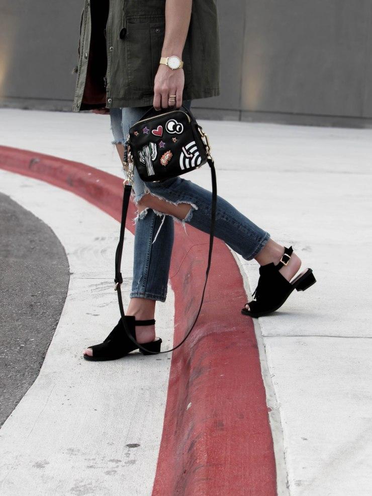 zara_patchwork_purse_ripped_cigarette_jeans_topshop_Blinder_Fringe_Slingback_Sandal_pinterest