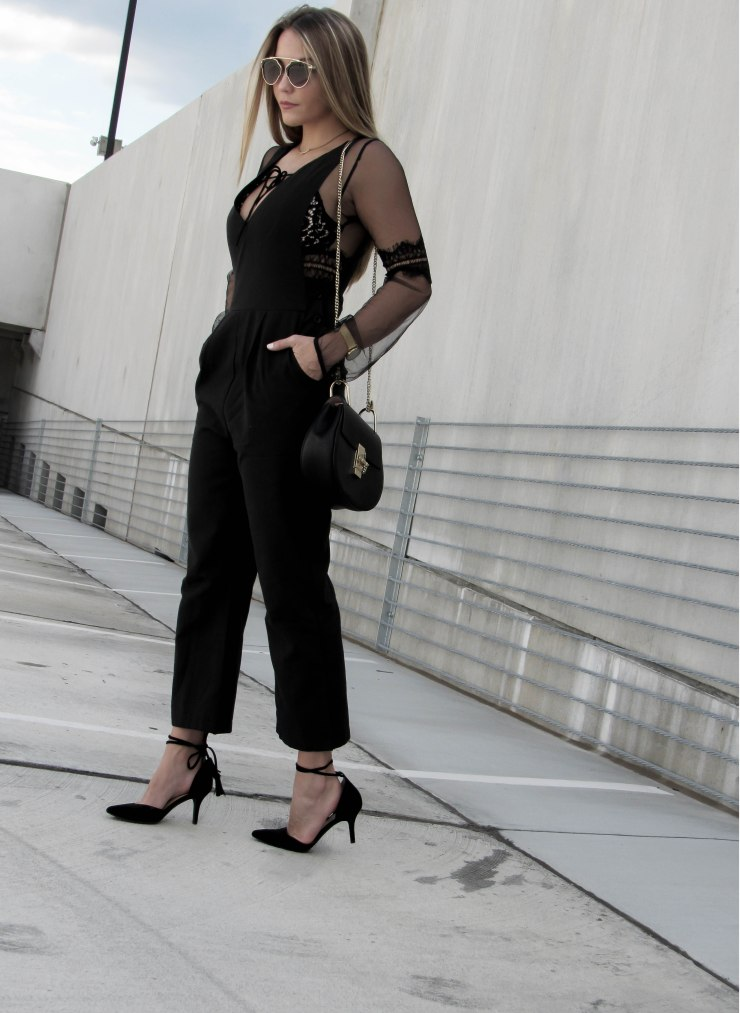 romwe_black_deep_v_neck_jumpsuit_outfit_pinterest_blogger_lookbook_bloglovin_black