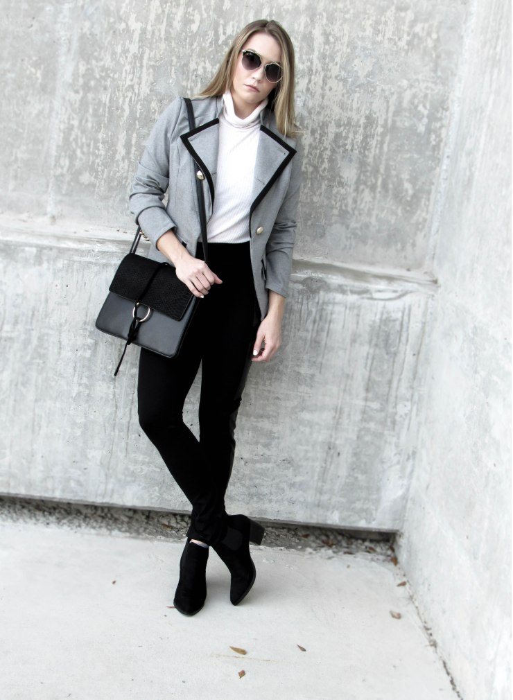make_me_chic_grey_lapel_button_blazer_long