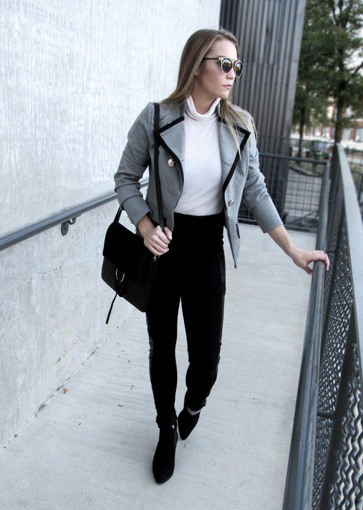 make_me_chic_lapel_button_pocket_long_blazer