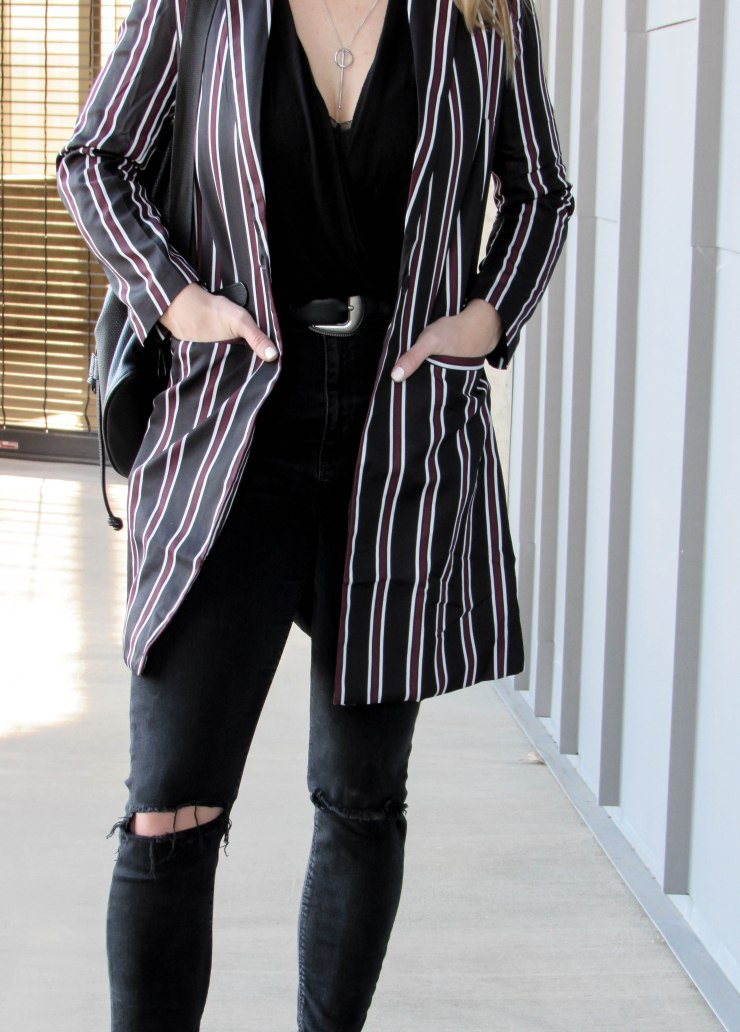 shein_multicolor_striped_lapel_pockets_long_blazer