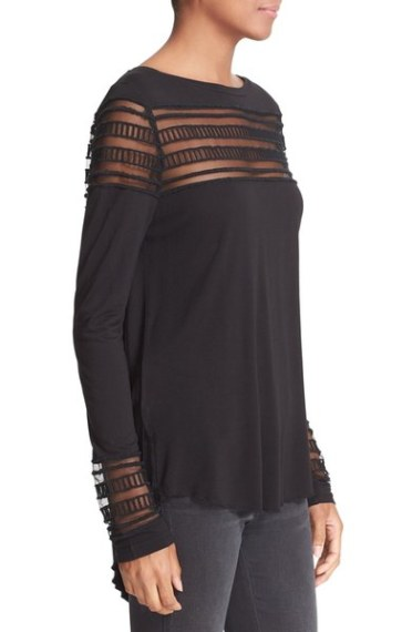 free-people-mesh-inset-tee-black