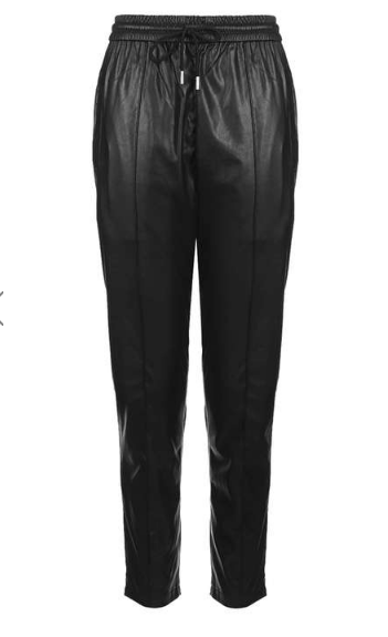 topshop-faux-leather-joggers-black