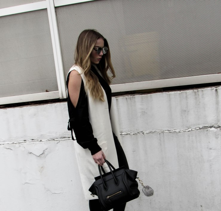 shein_black_open_shoulder_tie_sweater