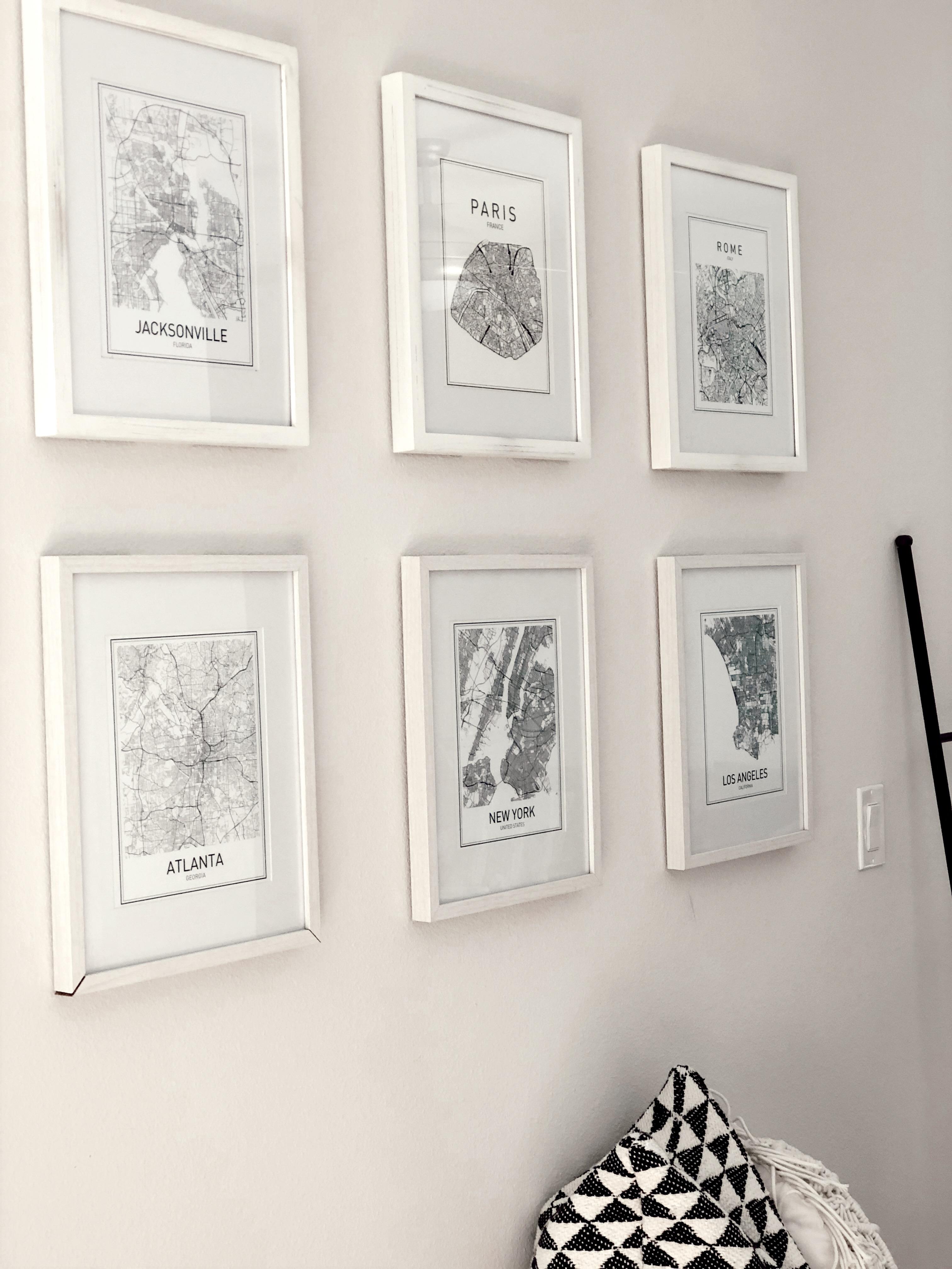 Paris-Map-Print-Amazon